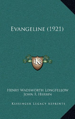 9781164209621: Evangeline (1921)