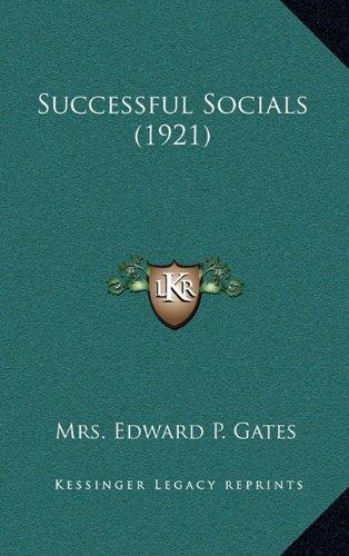 9781164222361: Successful Socials (1921)
