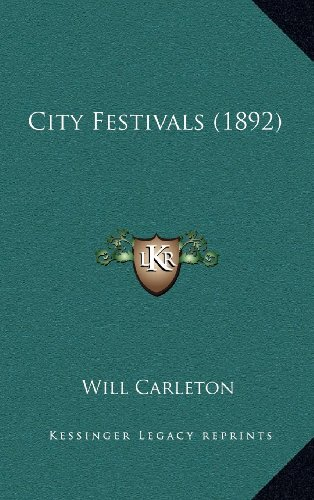 9781164242048: City Festivals (1892)