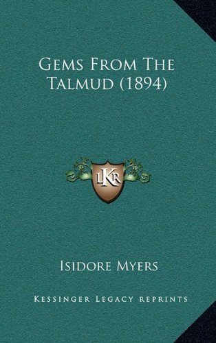 9781164253181: Gems From The Talmud (1894)