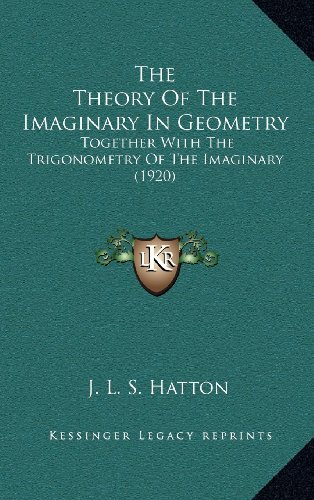 9781164275657: The Theory Of The Imaginary In Geometry: Together With The Trigonometry Of The Imaginary (1920)