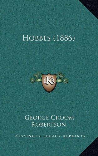 9781164292432: Hobbes (1886)