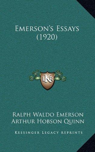 9781164344131: Emerson's Essays (1920)
