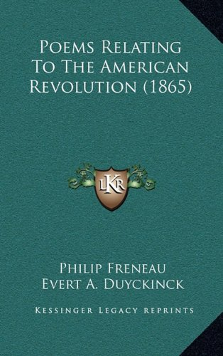 9781164351306: Poems Relating To The American Revolution (1865)