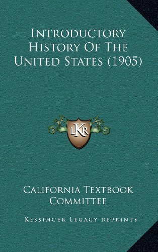 9781164388920: Introductory History Of The United States (1905)