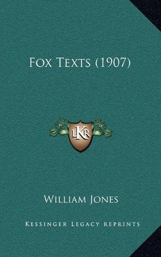 9781164392774: Fox Texts (1907)