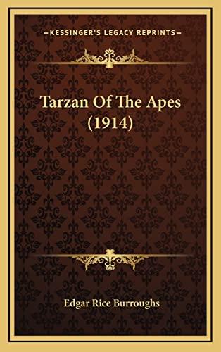 Tarzan Of The Apes (1914): Burroughs, Edgar Rice