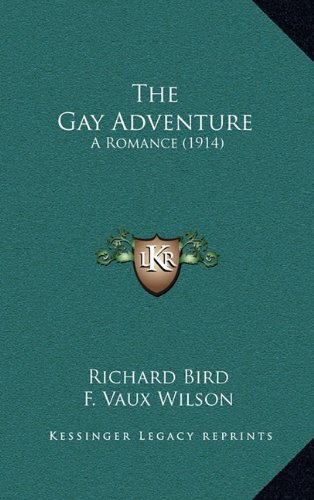 9781164405627: The Gay Adventure: A Romance (1914)