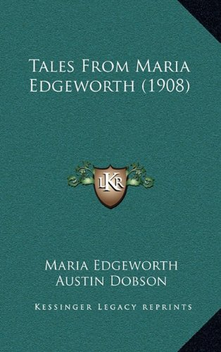 9781164420590: Tales From Maria Edgeworth (1908)