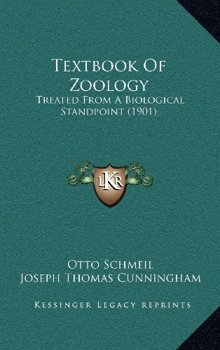 9781164444534: Textbook Of Zoology: Treated From A Biological Standpoint (1901)