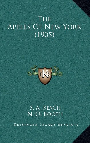9781164449515: The Apples Of New York (1905)