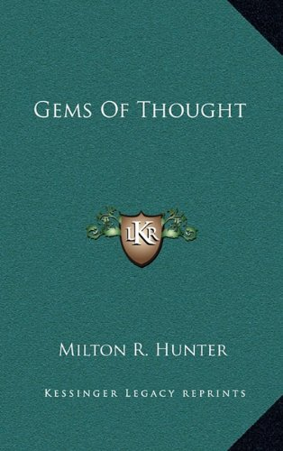 9781164474999: Gems Of Thought