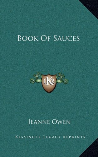 9781164479789: Book Of Sauces