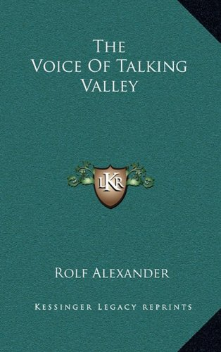 9781164481577: The Voice Of Talking Valley