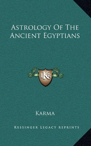 9781164488538: Astrology Of The Ancient Egyptians