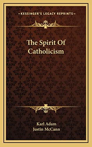 9781164492146: The Spirit Of Catholicism