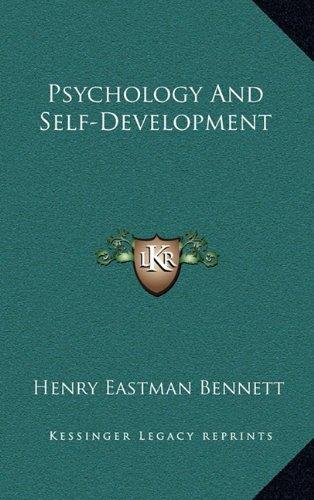 9781164501367: Psychology And Self-Development