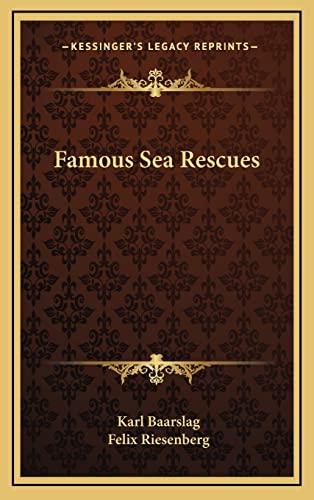 9781164503286: Famous Sea Rescues