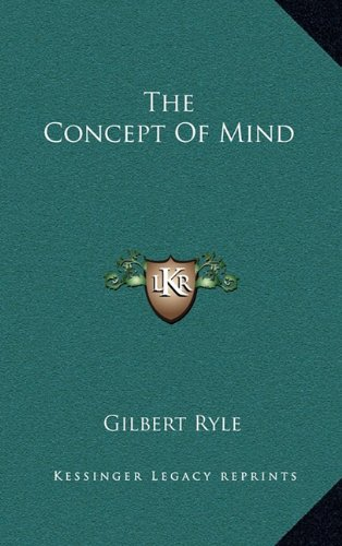 9781164504009: The Concept of Mind