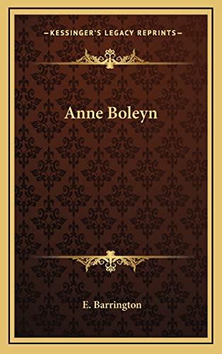 9781164509738: Anne Boleyn