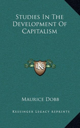 9781164509769: Studies In The Development Of Capitalism