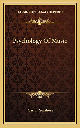 9781164511205: Psychology Of Music