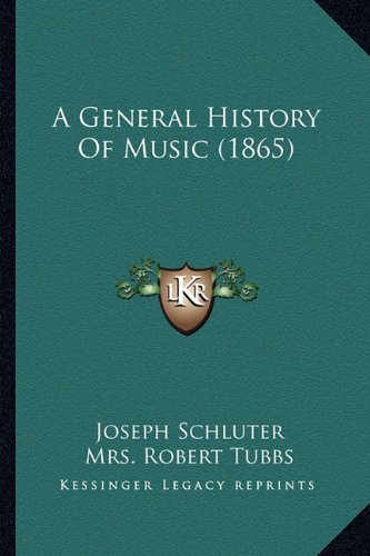 9781164527435: A General History Of Music (1865)