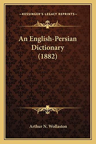 9781164569404: An English-Persian Dictionary (1882)