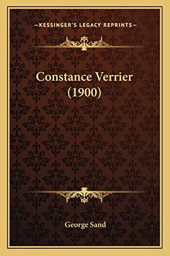 9781164611363: Constance Verrier (1900)