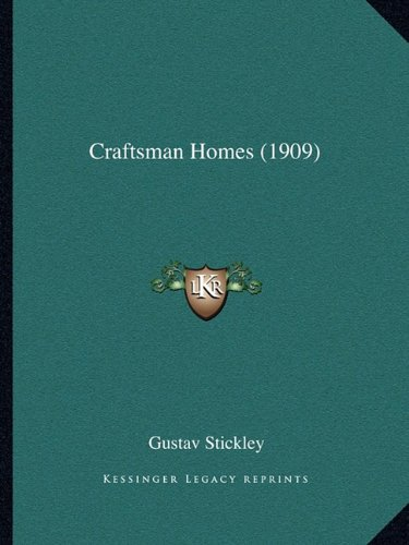 9781164614456: Craftsman Homes (1909)