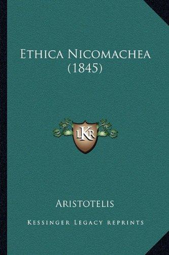 9781164638278: Ethica Nicomachea (1845)