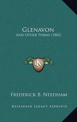 9781164708476: Glenavon: And Other Poems (1882)