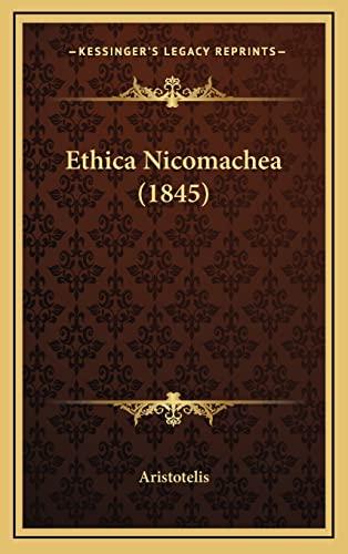 9781164726951: Ethica Nicomachea (1845)