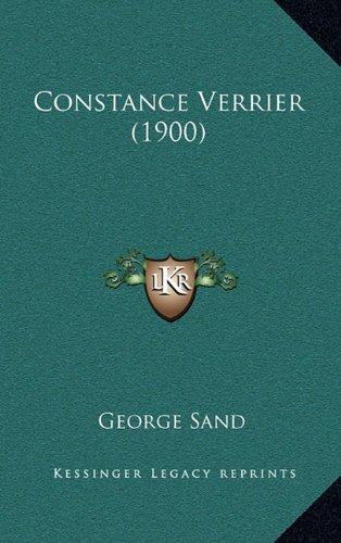 9781164738183: Constance Verrier (1900)