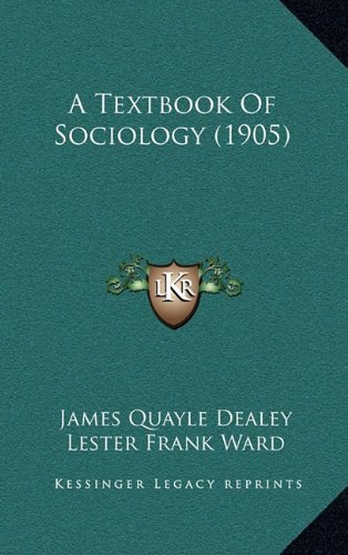 9781164779155: A Textbook Of Sociology (1905)