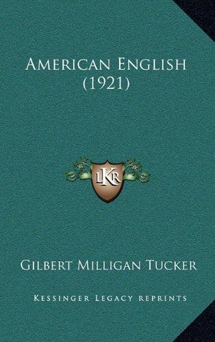 9781164784807: American English (1921)