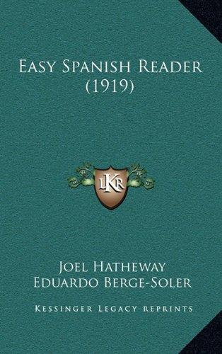 9781164793106: Easy Spanish Reader (1919)