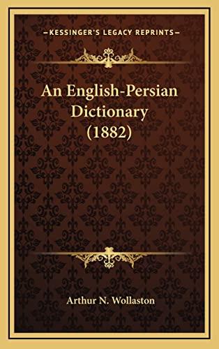 9781164805267: An English-Persian Dictionary (1882)
