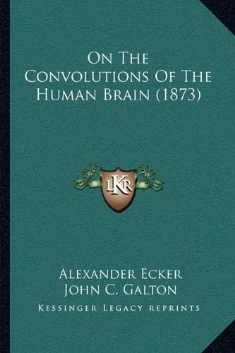9781164838388: On The Convolutions Of The Human Brain (1873)