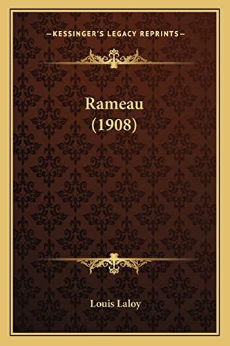 9781164890201: Rameau (1908)