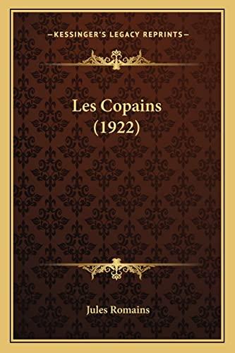 9781164890539: Les Copains (1922)