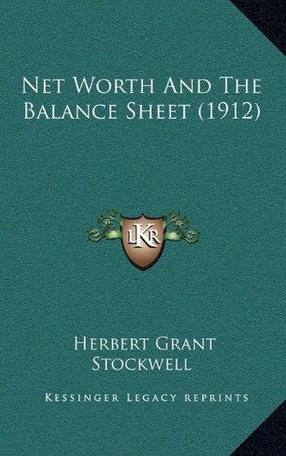 net worth sheet