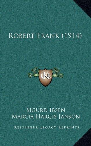 9781164988236: Robert Frank (1914)