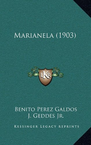 9781165017355: Marianela (1903)