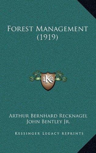 9781165018499: Forest Management (1919)