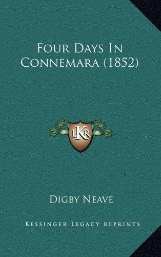 9781165024117: Four Days In Connemara (1852)