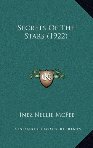 9781165024629: Secrets Of The Stars (1922)