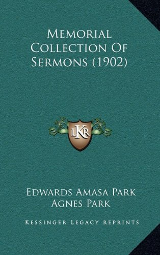 9781165030552: Memorial Collection Of Sermons (1902)