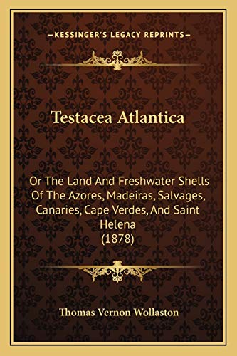9781165134557: Testacea Atlantica: Or the Land and Freshwater Shells of the Azores, Madeiras, Salvages, Canaries, Cape Verdes, and Saint Helena (1878)