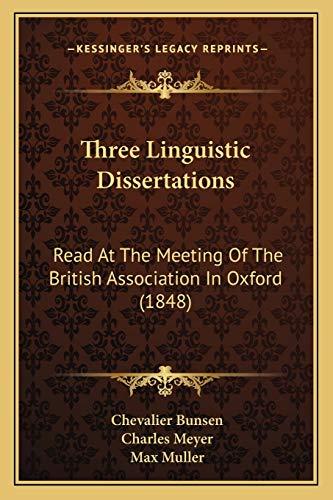 linguistic dissertations
